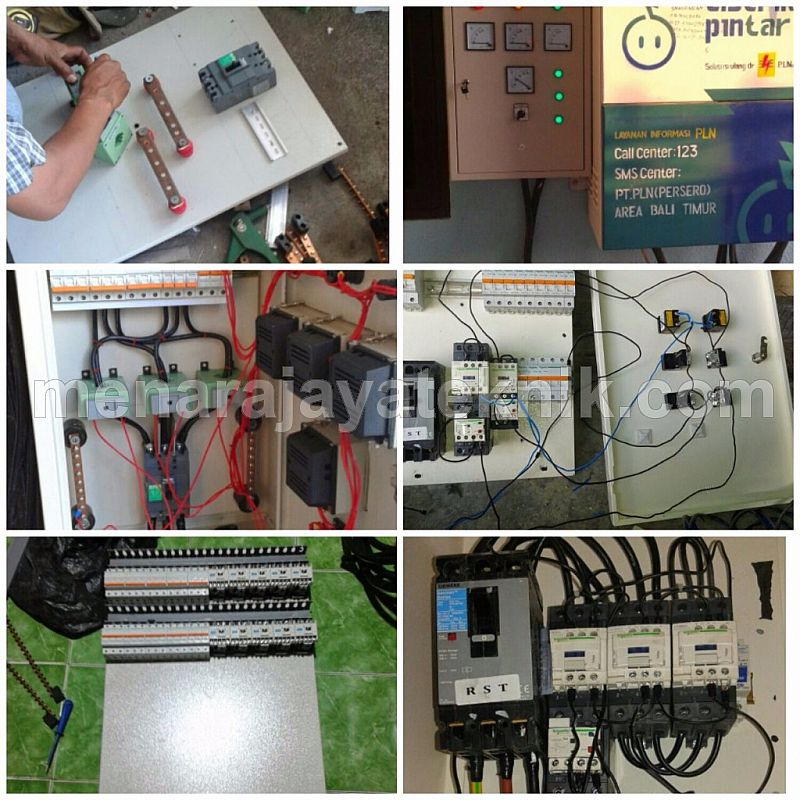 Pembuatan panel listrik (SDP/MDP) on roof panel, pump panel, switch panel, fuse panel, drywall panel, glass panel, maintenance panel,